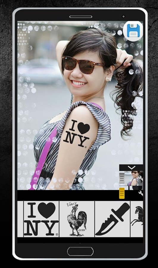 tattoo photo editor android apps on google play. Black Bedroom Furniture Sets. Home Design Ideas