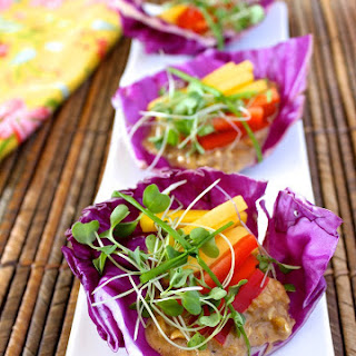 Spicy Mango Chili Wraps