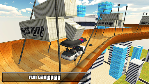 Biggest Mega Ramp With Friends - Car Games 3D apkpoly screenshots 5
