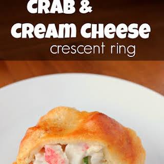 Crab & Cream Cheese Crescent Ring.