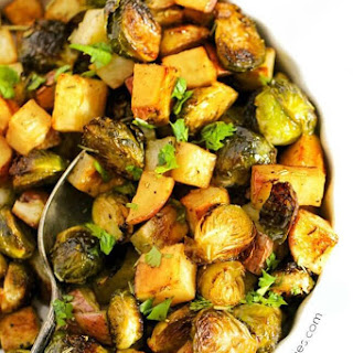Roasted Potatoes Brussel Sprouts Recipes.