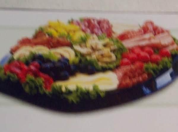 A Taste Of  Italy- Tray Recipe