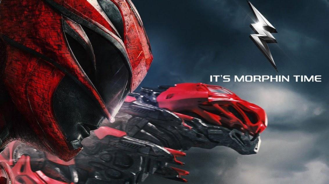 Power Rangers - Czerwony Wojownik i jego zord w kształcie T-Rexa