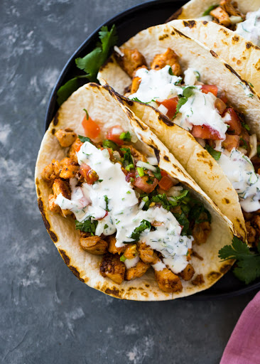 Easy 20 Minute Chicken Tacos