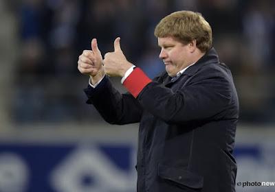 Vanhaezebrouck volgend seizoen nog coach van Gent? De Witte reageert