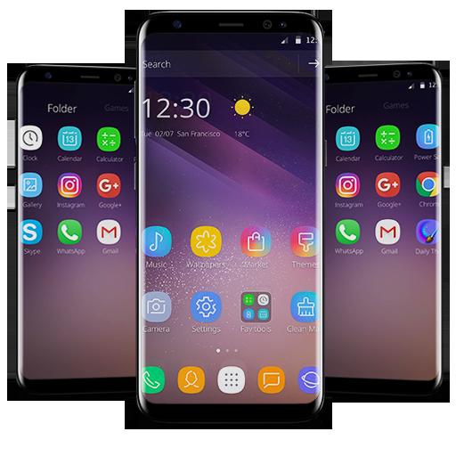 Purple Theme for Galaxy S8