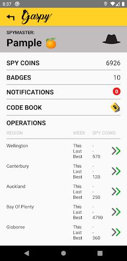 Gaspy - NZ Fuel Prices screenshots 4