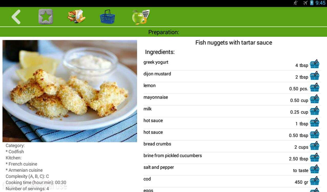 Fish recipes android apps on google play fish recipes screenshot forumfinder Image collections