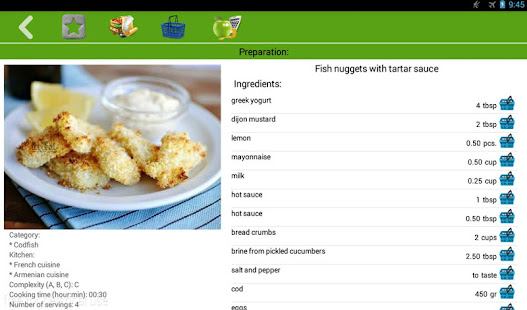 Fish recipes apps on google play for Fish identification apps
