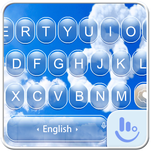 Love Cloud Keyboard Theme 個人化 App LOGO-APP開箱王