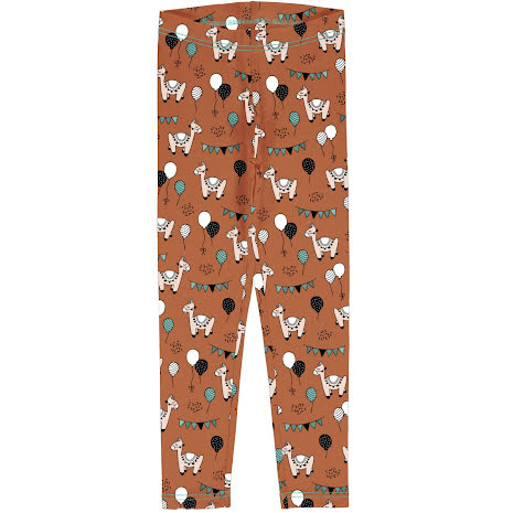 Maxomorra Leggings Camel Party