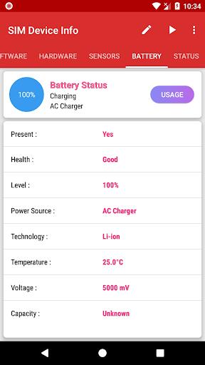 SIM Device Info 1.0.9 screenshots 7