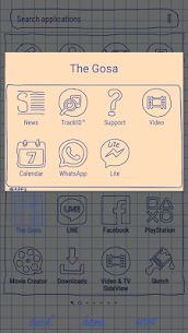 Sheet of notebook | Xperia™ Theme + icons 3.0.001 PAID 4