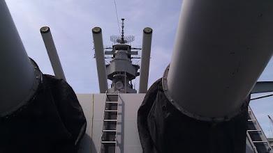 Photo: The Battleship Wisconsin.