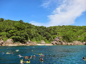 Photo: Snorkeling at Simlian Island (#4 I think)