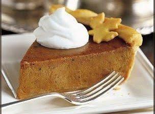 Pumpkin Pie (for fresh pumpkin only)