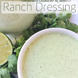 Tomatillo Cilantro & Lime Ranch Dressing