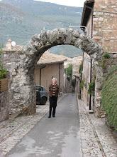Photo: The Roman Arch (Arco Romano) in Spello