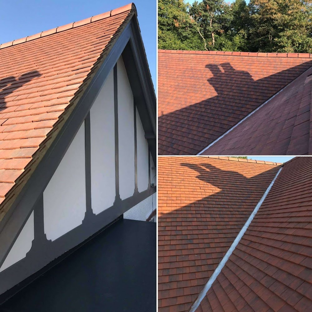 a tiled roof in Farnborough