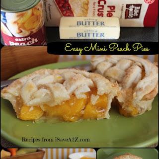 Easy Mini Peach Pie