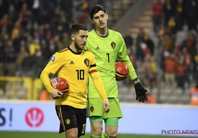 """Thibaut Courtois is onder de indruk van Eden Hazard: """"Hij is fitter dan ooit!"""""""