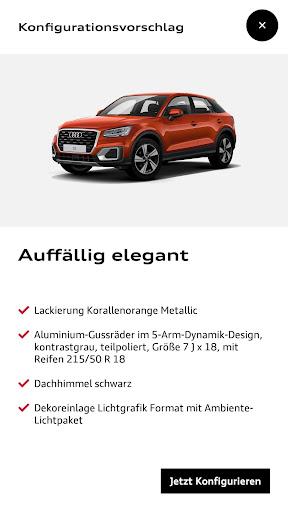 Audi Konfigurator Deutschland screenshot 3