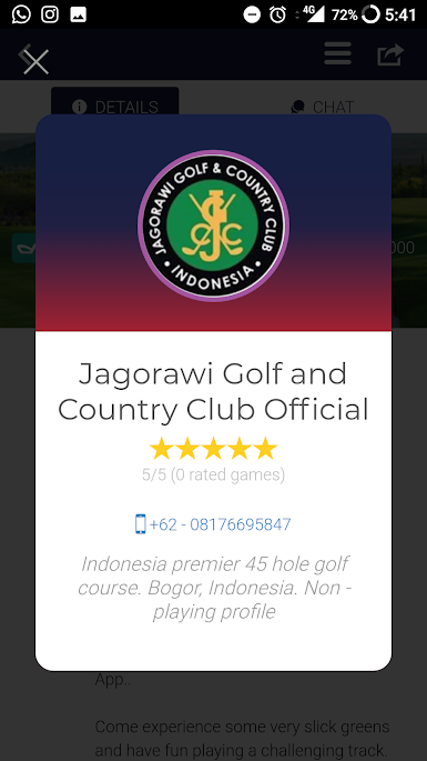 deemples jagorawi golf and country club profile