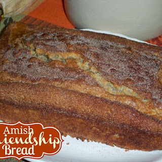 Amish Friendship Bread made with Vanilla Pudding