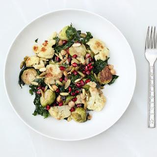 Autumn Harvest Salad with Horseradish Vinaigrette – Gluten-free + Vegan