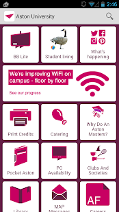 Aston University Student App- screenshot thumbnail