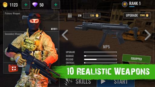 Zombie Shooter Hell 4 Survival  captures d'u00e9cran 2