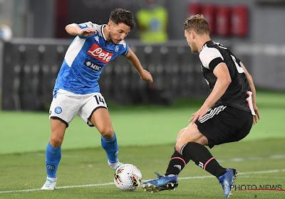 Nieuw seizoen, same old Dries Mertens: Meteen eerste doelpunt voor Rode Duivel