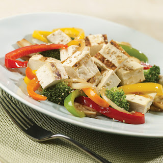 Tofu Vegetable Salad