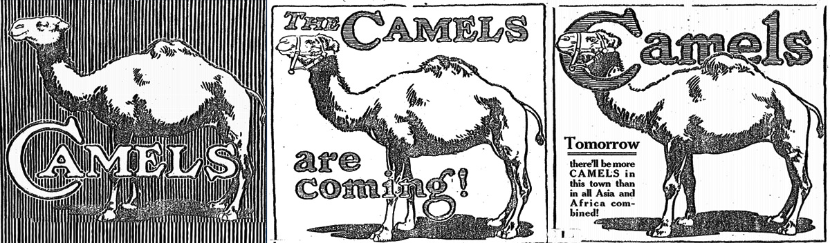 camel cigarettes product launch marketing