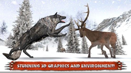 Wolf Simulator Extreme- screenshot