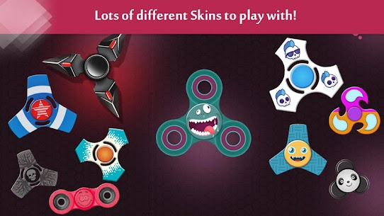 Fidget Spinner .io Game MOD Apk 111.0 (Unlimited Coins) 3