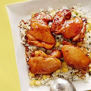 Teriyaki Chicken and Pineapple Rice.