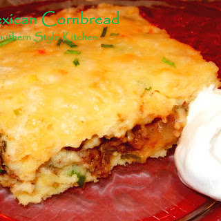 Stuffed Mexican Cornbread.