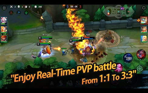 League of Masters: Legend PvP MOBA 9