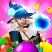 Popped: Shoot the bubble with the Bubble Wizard!
