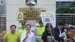 維權律師王全璋失蹤千日 妻徒步尋夫被抓 政黨到中聯辦抗議