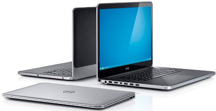 Photo: Dell XPS 13, XPS 14, and XPS 15. More details here: http://dell.to/Oj6LIW
