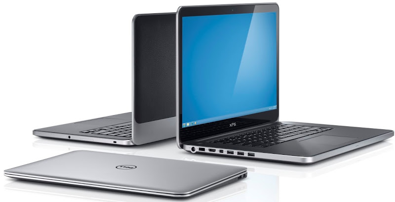 Photo: Dell XPS 13, XPS 14, and XPS 15.More details here: http://dell.to/Oj6LIW