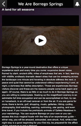 We Are Borrego Springs- screenshot