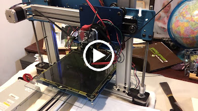 Video: Getting close to a functional ord bot 3D printer, just can't figure out how to get Repetier Host to talk nice to the z-axis.