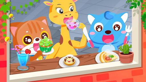 Verão do Bebê Panda: Cafeteria screenshot 2