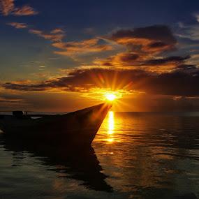 Silent Morning by Miswar Rasyid - Landscapes Sunsets & Sunrises