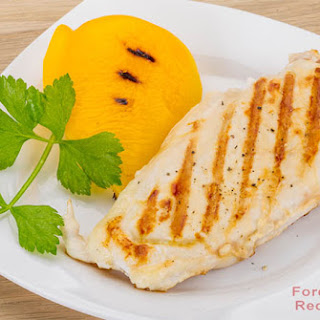 Simple Boneless Grilled Chicken Breast