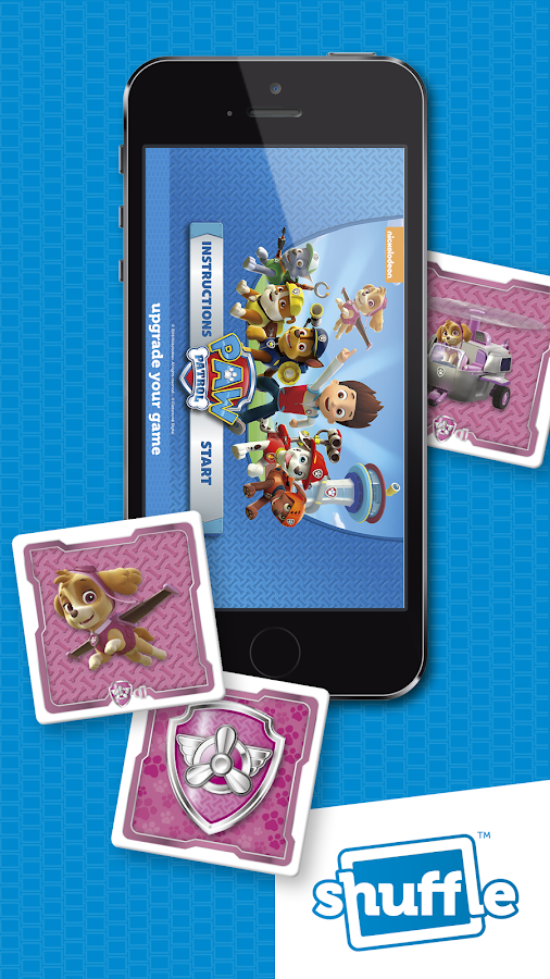 Paw Patrol by ShuffleCards- screenshot