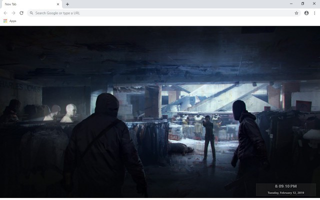 The Last Of Us: Remastered New Tab Theme